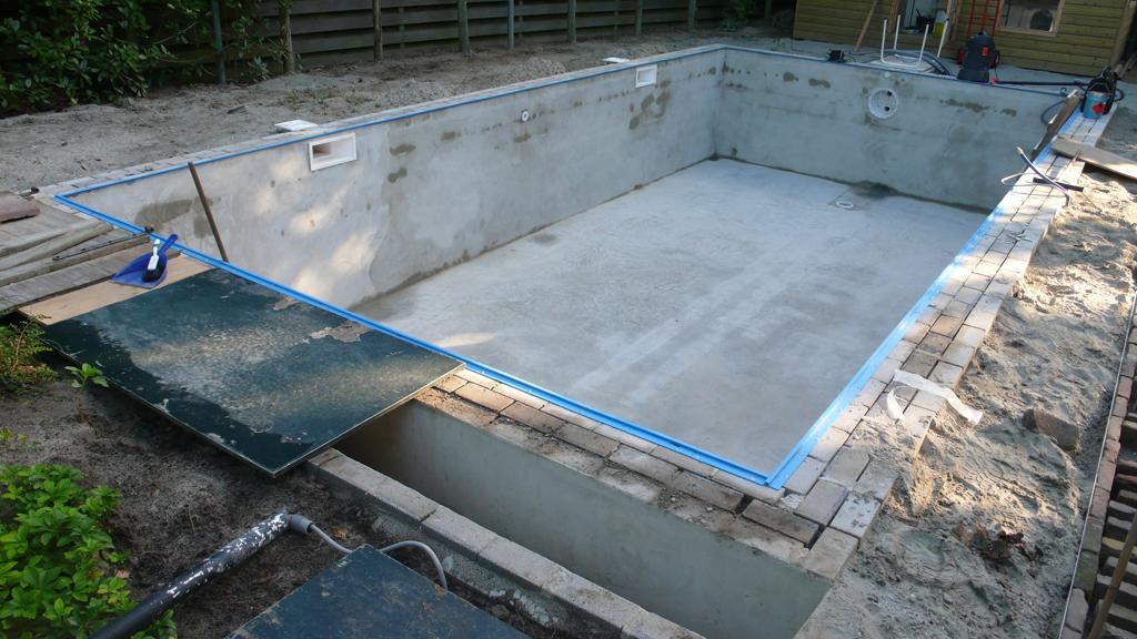 Gemetselde beton constructie